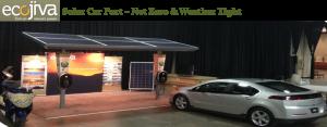 Solar Power Car Charging Station
