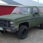 Great Lakes Permaculture 1985 K5 Blazer CUCV M1009